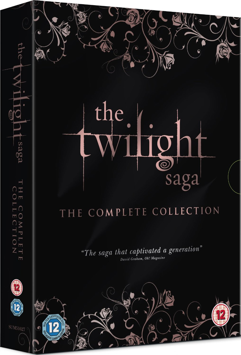 Twilight Saga: Komplet 1-5 na DVD